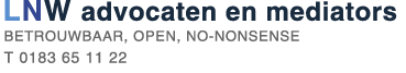 logo LNW advocaten en mediators